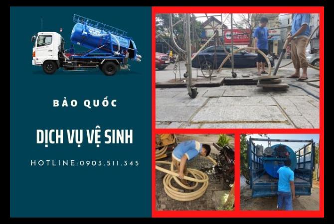 Giới Thiệu Dịch Vụ Bảo Quốc - Hút Hầm Cầu Quảng Ngãi.